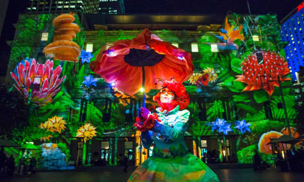 Qantas & Destination NSW – Vivid Sydney