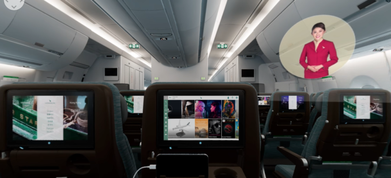 Cathay Pacific A350 – 1000 VR Experience