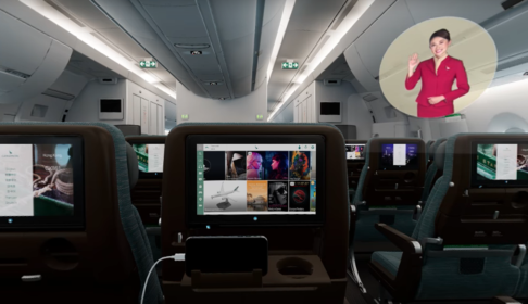 Cathay Pacific A350 - 1000 VR Experience