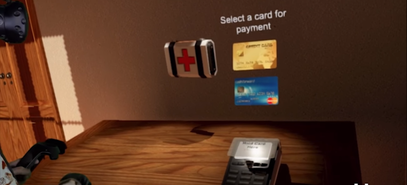 Worldpay: Real Payments in Virtual Reality