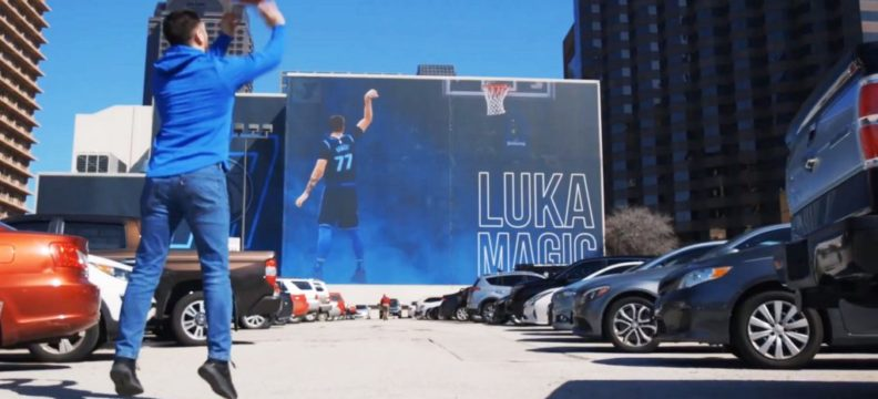 Dallas Mavericks – Billboard AR
