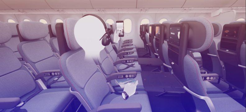 PearsonLloyd Economy Class Seat VR