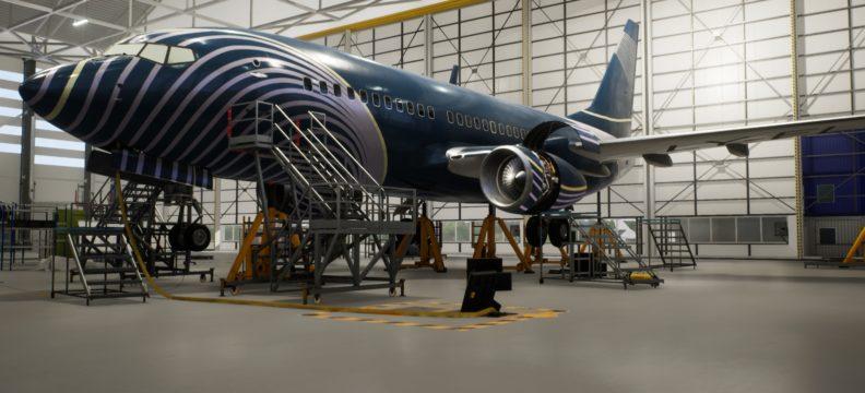 VR Boeing 737 Next Gen Thrust Reverser