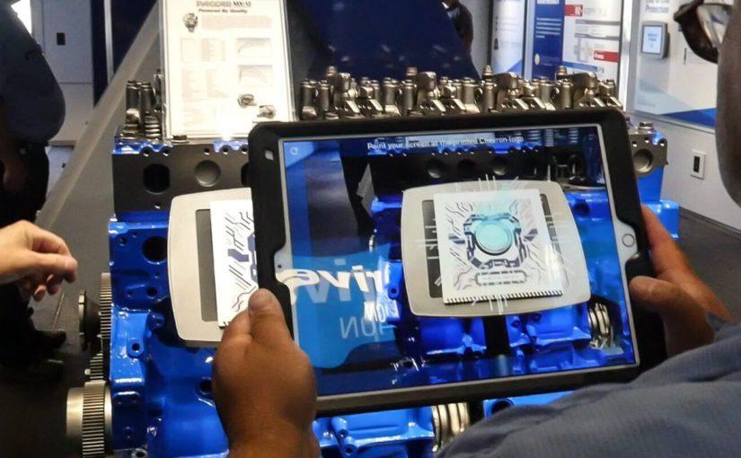 Chevron 'Bumper to Bumper' AR App