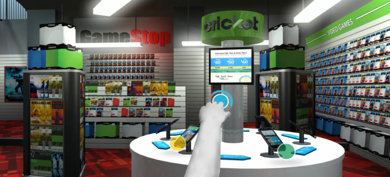 Cricket Wireless: VR Store Preview and Game