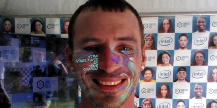 Intel AR: Bonnaroo Face Paint Application
