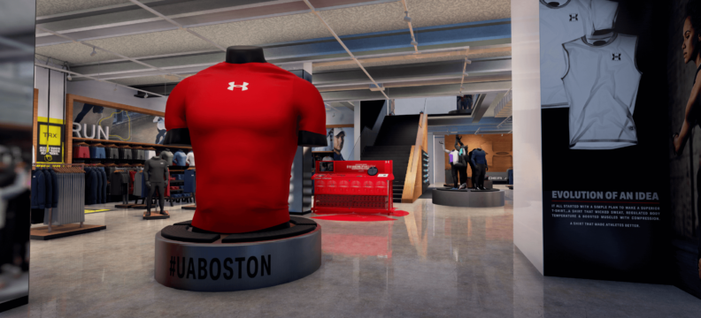 Under Armour Brand House Virtual Tour