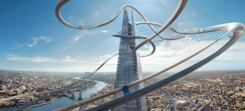 The View from The Shard VR Slide