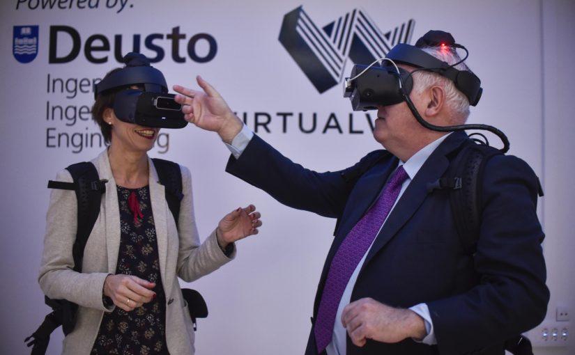 VIROO: Virtualware Immersive Room