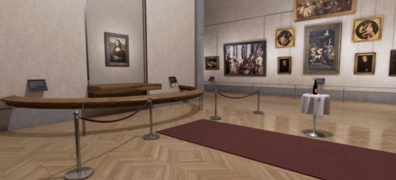 The Mona Lisa Room – Virtual Reality Experience