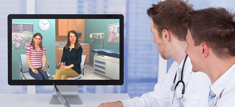 VR Training for Healthcare Practitioners