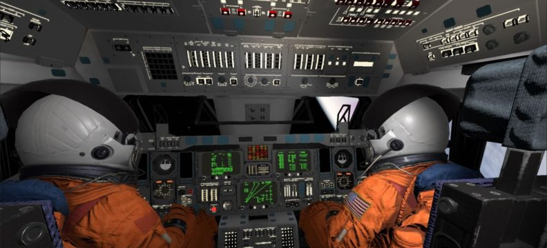 Shuttle Commander: Hubble Space Telescope