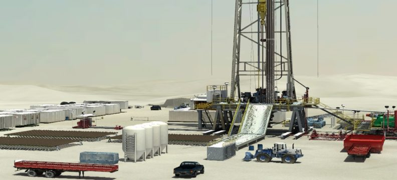 Saudi Aramco Oil Field Visualization and Simulation