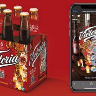 Victoria's Dia De Los Muertos Bottles WebAR