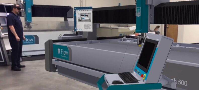 Flow Waterjets Sales & Marketing Large Equipment