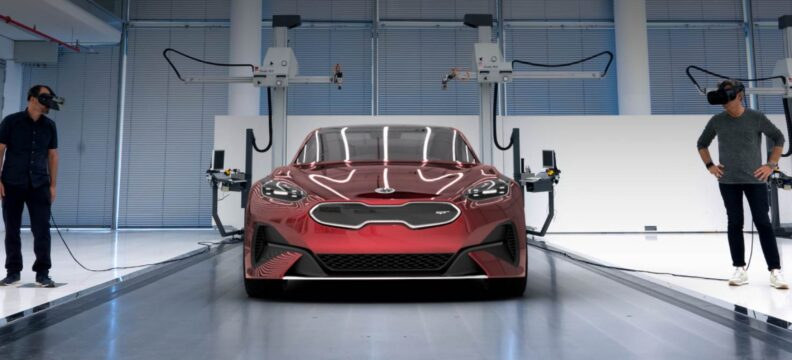 Kia Motor's Car Design XR Collaboration