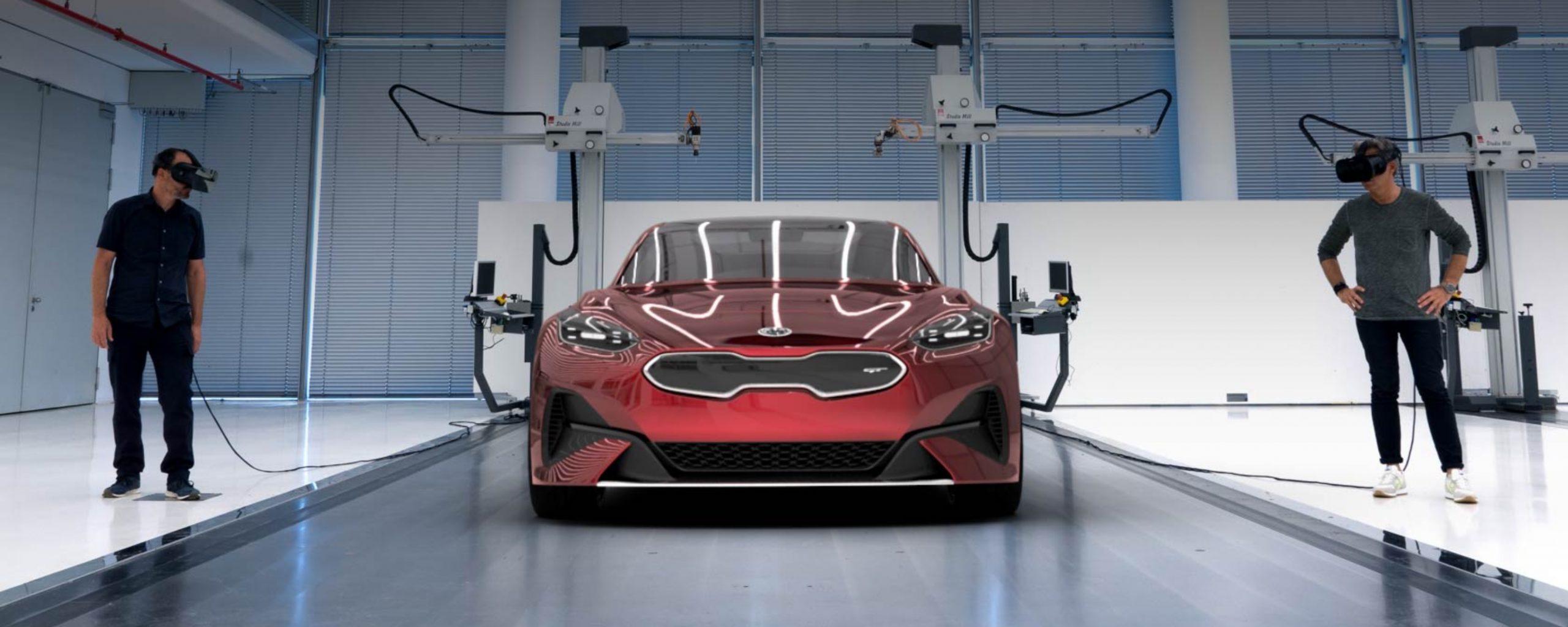 Kia Motor's Car Design XR Collaboration