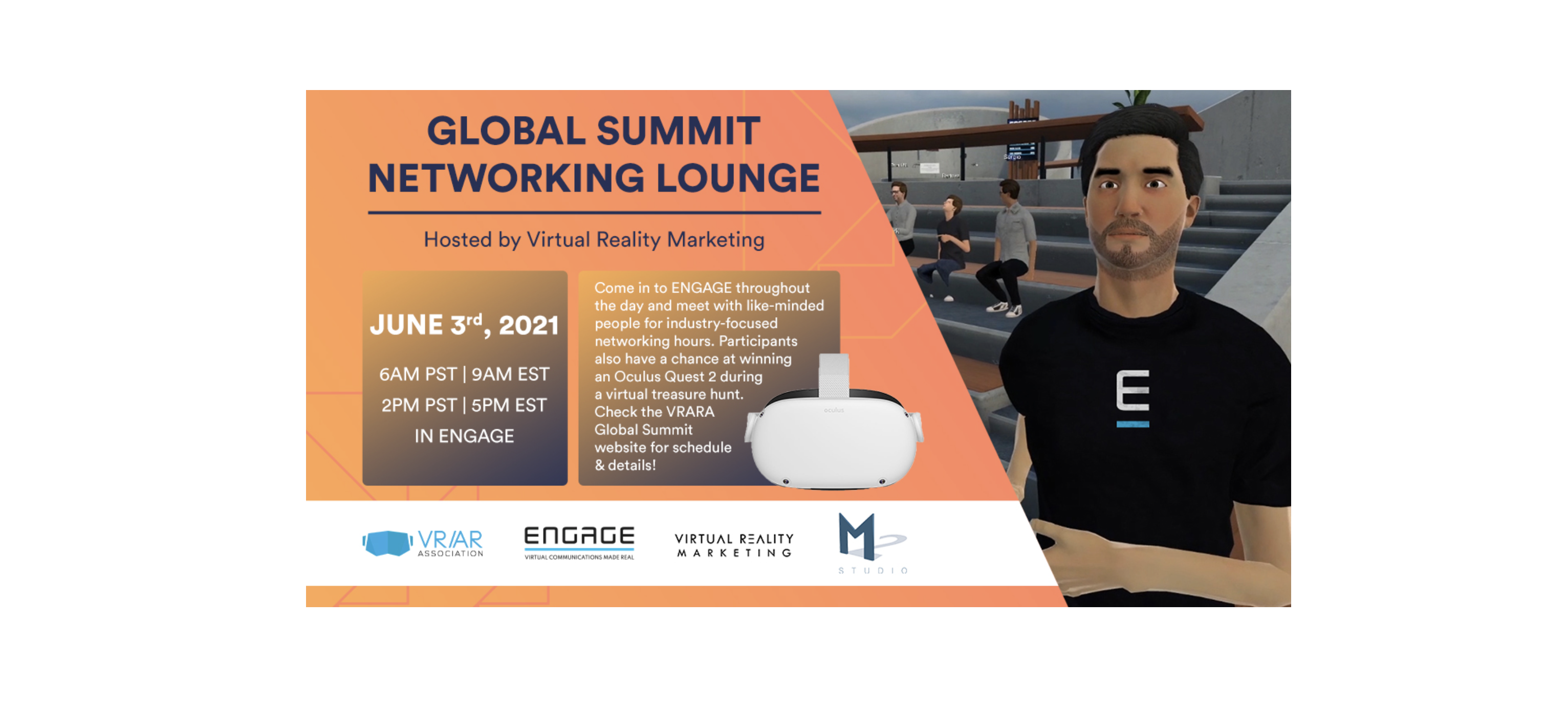 We invite you to the Global Summit Networking Lounge