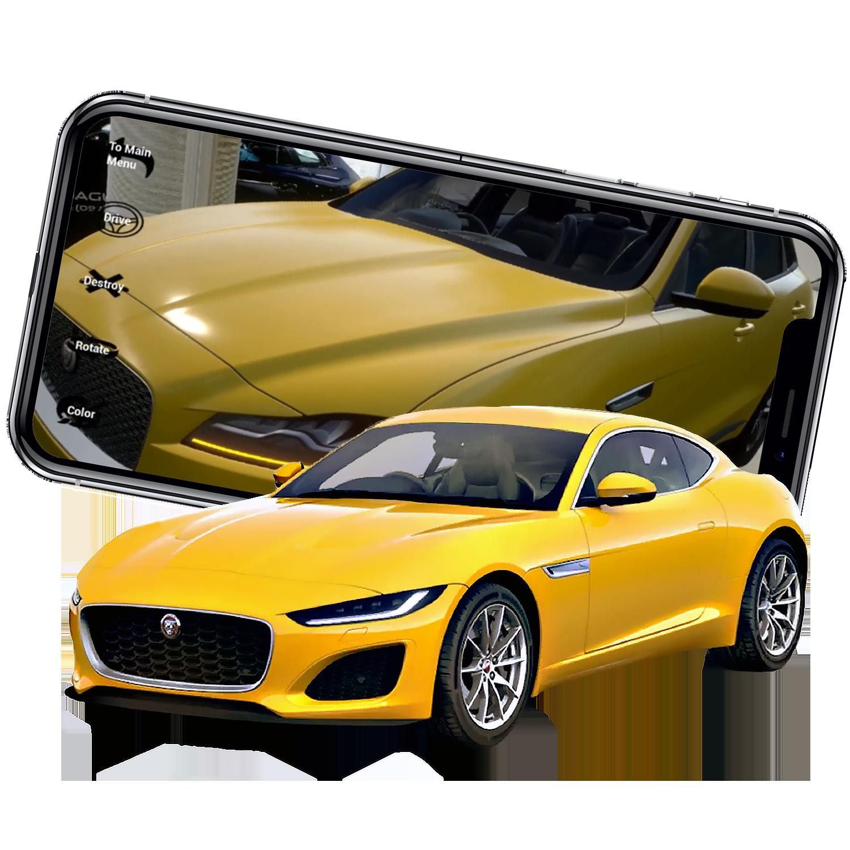 AR Jaguar Car Showroom