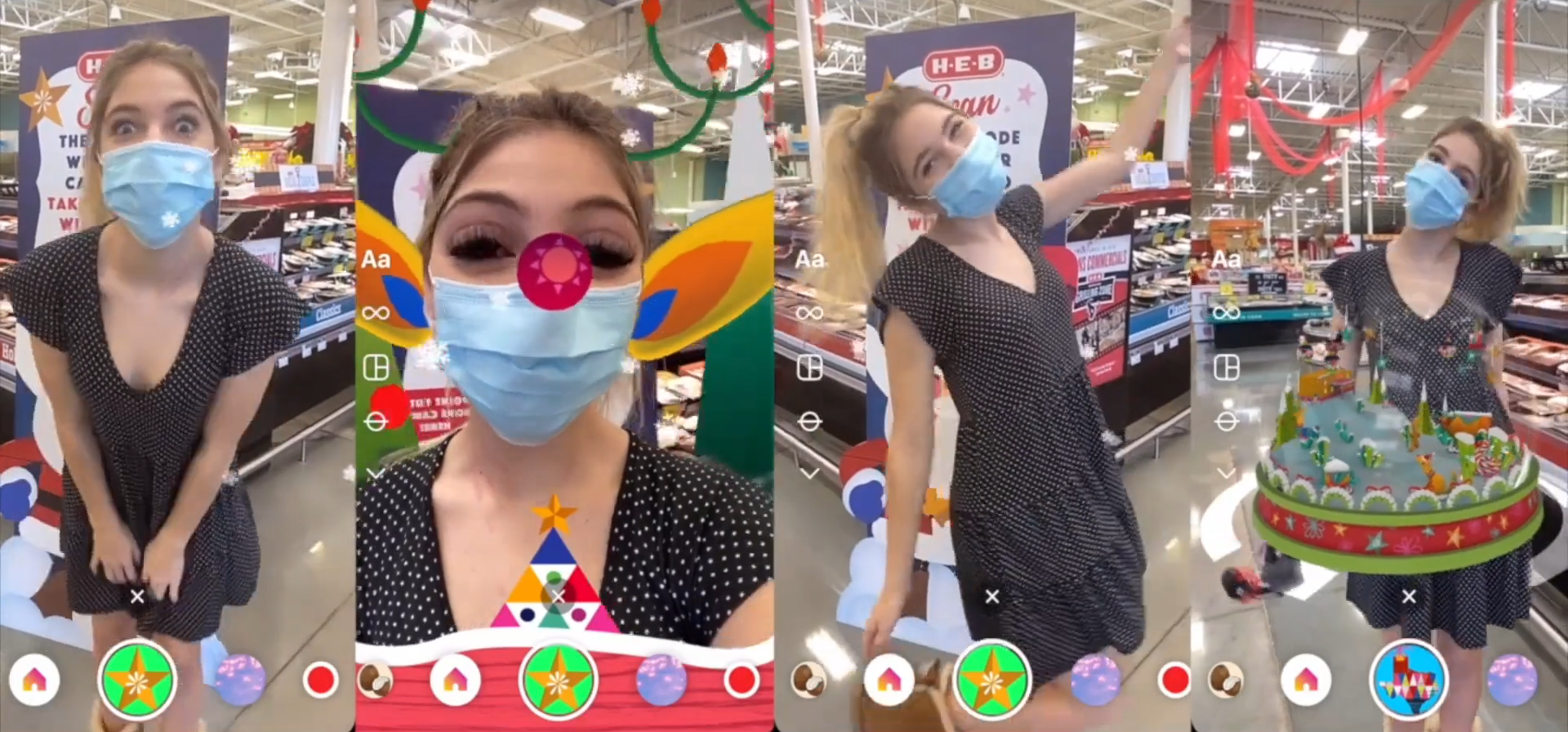 Holiday Even Brighter AR Filters