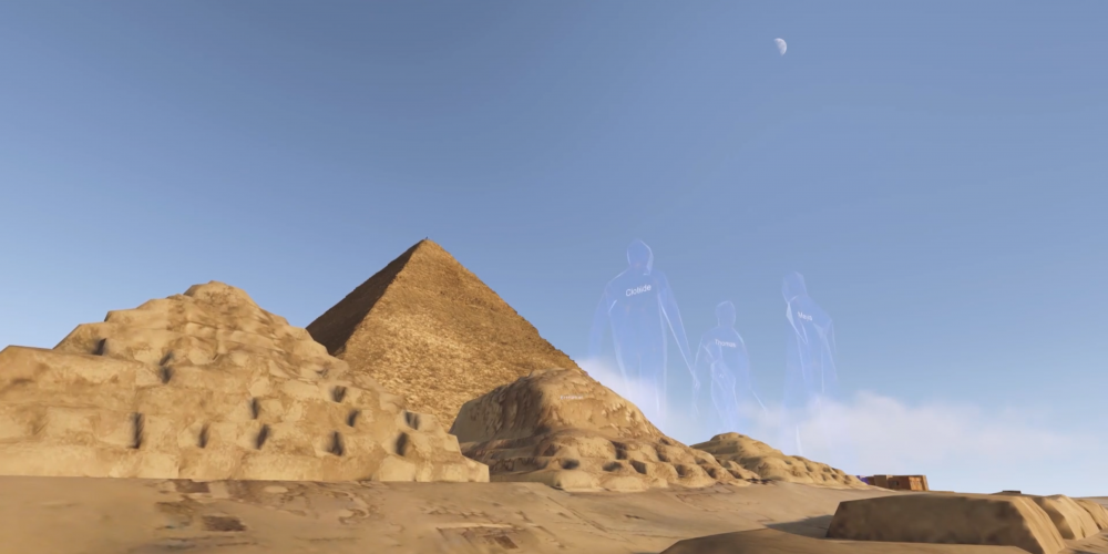 Scan Pyramids VR Experience