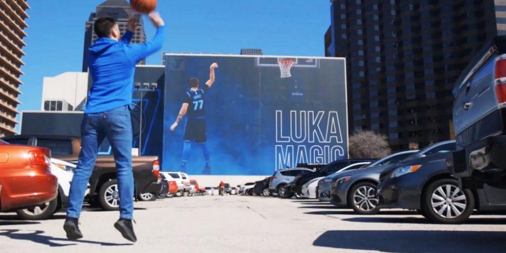 Dallas Mavericks – Billboard AR