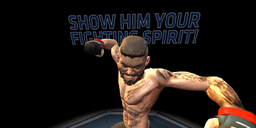 Modelo UFC Fighting Spirit