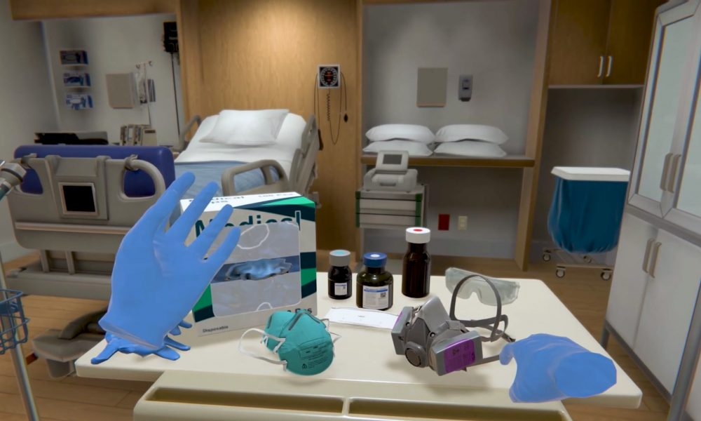 VR PPE Training for Healthcare Workers