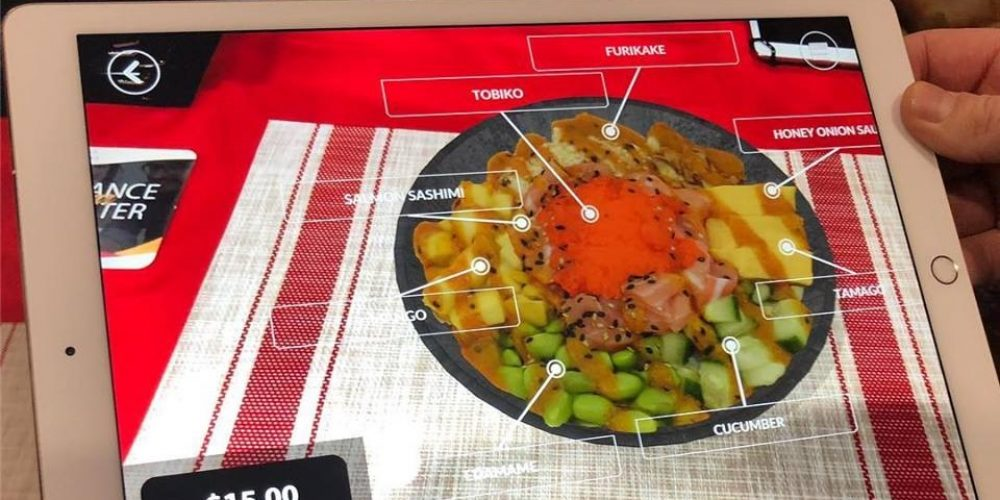 3D Food and Drink Interactive Solutions