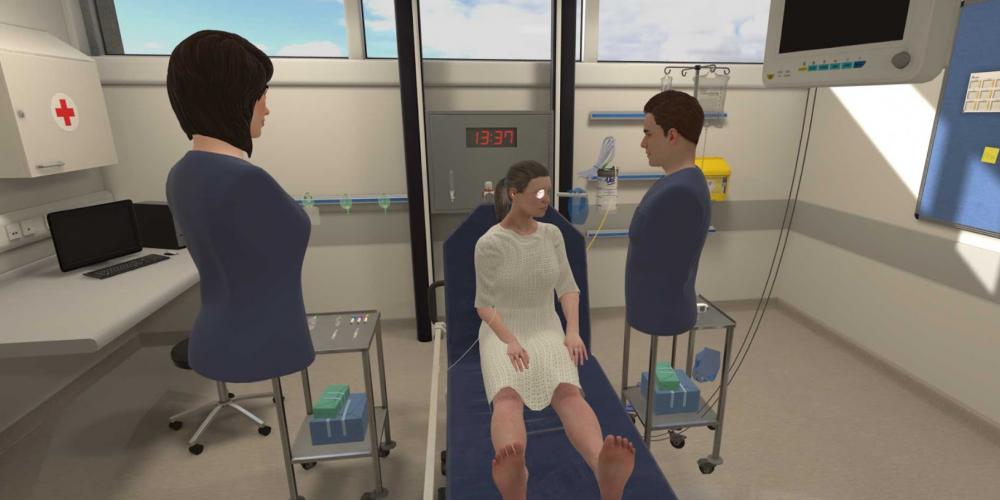 Interprofessional VR Simulation