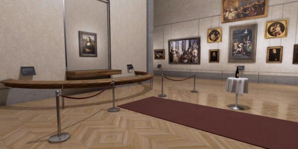 The Mona Lisa Room – Virtual Reality Experience