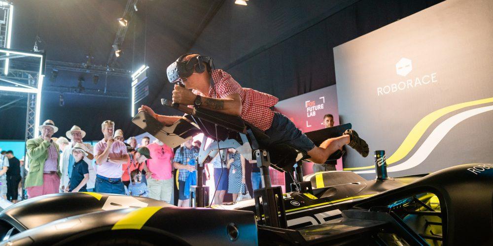 Roborace – Immersive VR Simulator