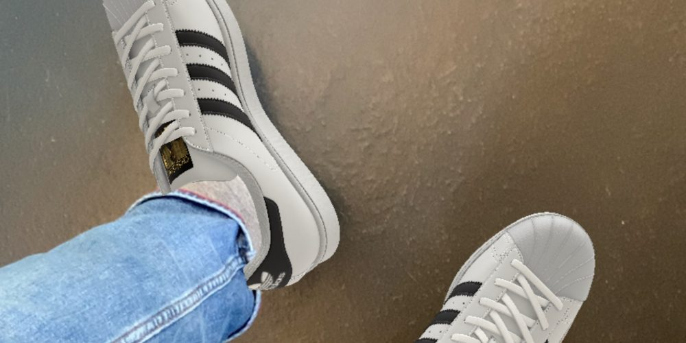 Adidas AR Sneakers Try-On App